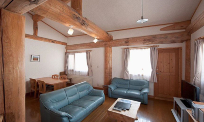 Silver Birch Living Area | Upper Hirafu