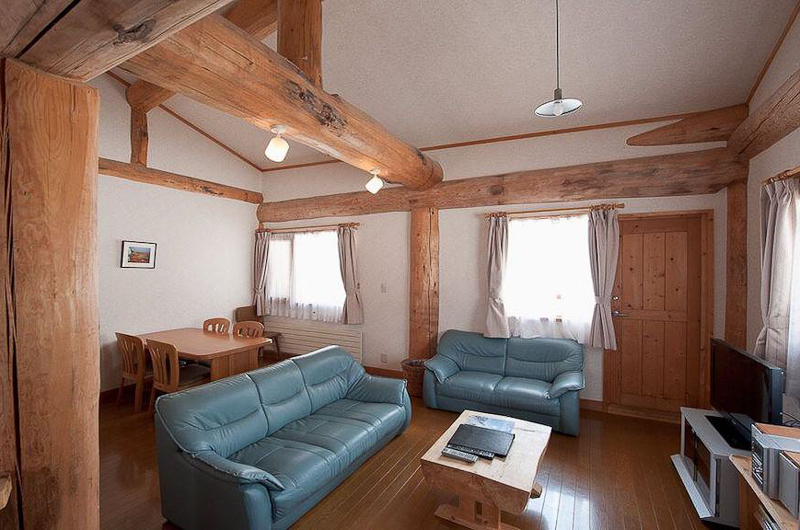 Silver Birch Living Area | Upper Hirafu