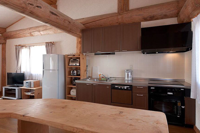 Silver Birch Kitchen Area | Upper Hirafu