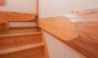Silver Birch Wooden Stairs | Upper Hirafu
