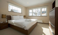 The Chalets at Country Resort Bedroom with Carpet | West Hirafu