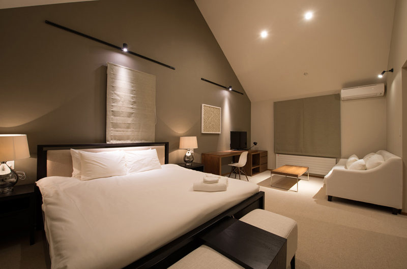 The Orchards Niseko Bedroom with Sofa | West Hirafu