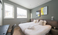 The Orchards Niseko Bedroom with Wooden Floor | West Hirafu
