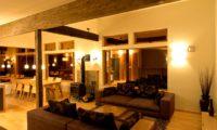 Tsukinoki Living Area with Wooden Floor | Lower Hirafu