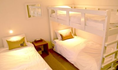 Wajima Bunk Beds with Carpet | Middle Hirafu