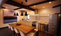 Momiji Lodge Kitchen and Dining Area | Middle Hirafu