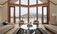 Eagle's Nest Living Area with Mountain View | West Hirafu