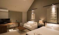 Goyomatsu Bedroom with Sofa and TV | West Hirafu