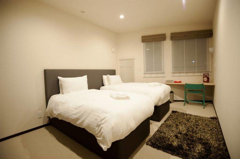 Kasumi Twin Bedroom with Study Table | West Hirafu