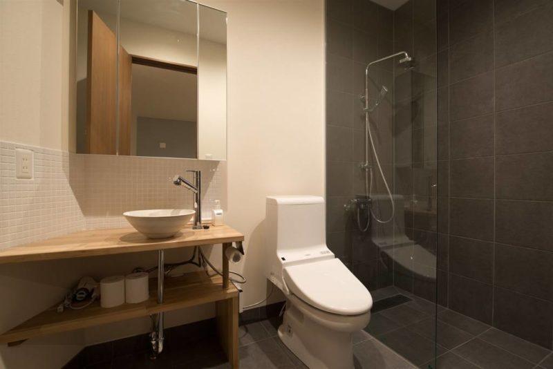 Kuromatsu Bathroom with Shower | West Hirafu