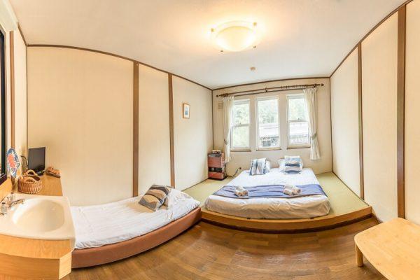 Jam Lodge Niseko Japanese Style Room | West Hirafu