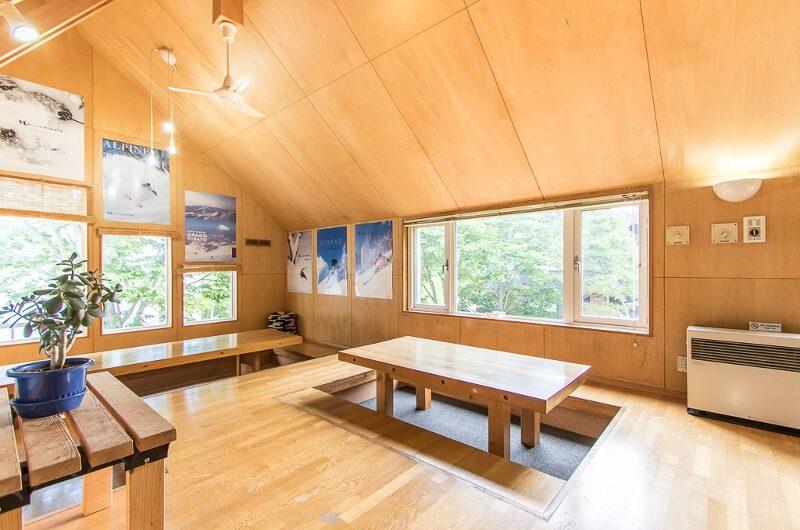 Potato Lodge Niseko Japanese Style Seating Area | Lower Hirafu