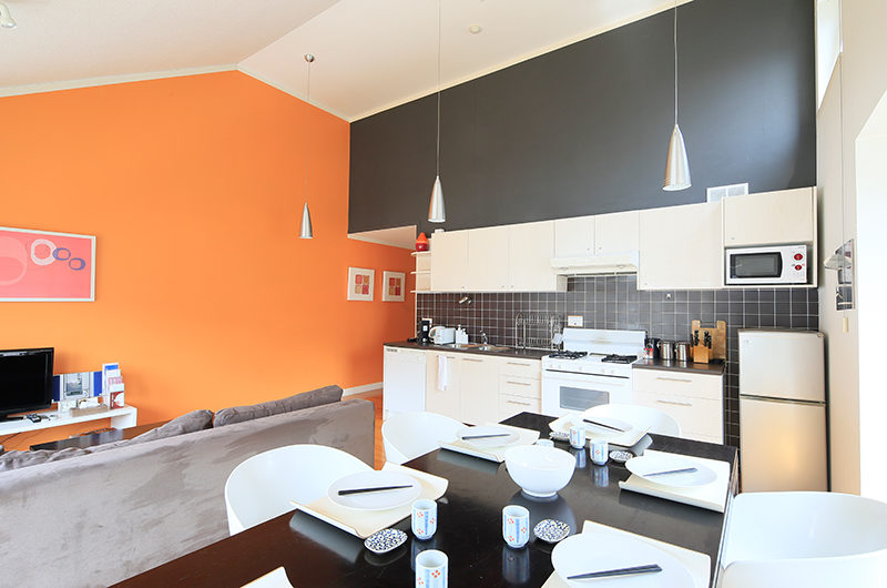 First Tracks Kitchen Living and Dining Area | Upper Hirafu