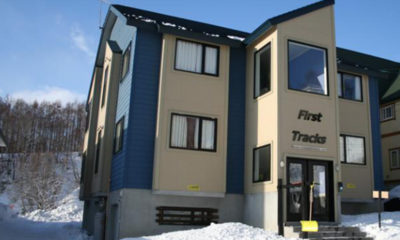 First Tracks Exterior | Upper Hirafu