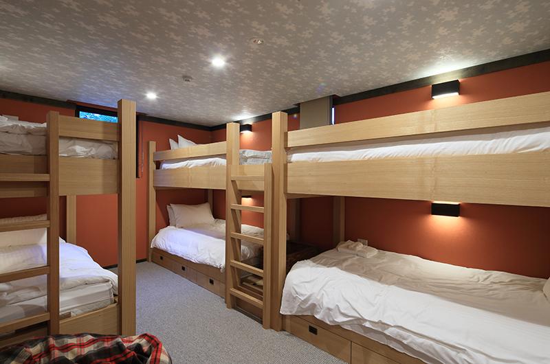 Gustavs Hideaway Bunk Beds | Lower Hirafu