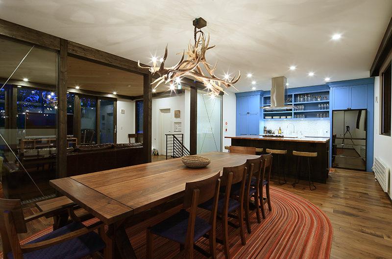 Gustavs Hideaway Dining Area | Lower Hirafu