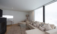 Kawasemi Residence Living Room with TV | Lower Hirafu