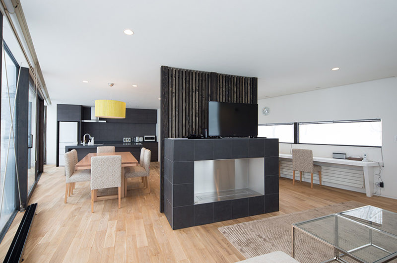 Kawasemi Residence Dining Area | Lower Hirafu