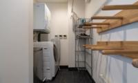 Kawasemi Residence Laundry Room with Hangers | Lower Hirafu