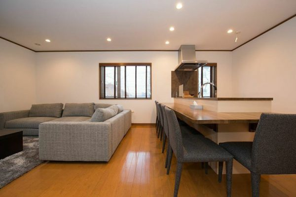 Kiseki Living and Dining Area | Upper Hirafu