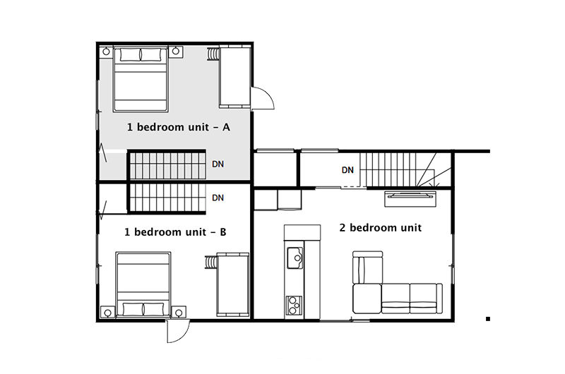 Kiseki Floorplan Two | Upper Hirafu