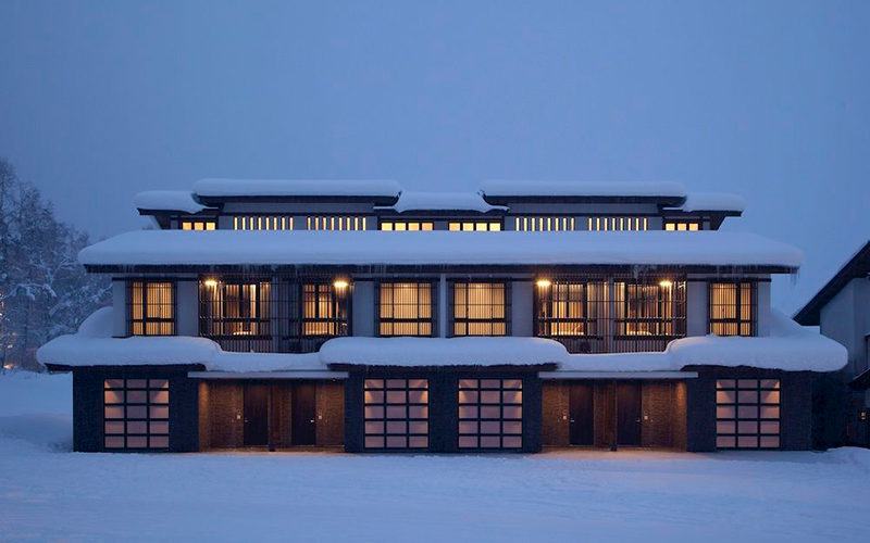 Niseko Kasara Townhouses External Night