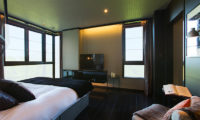 Kasara Townhouses Bedroom with TV | Niseko Village
