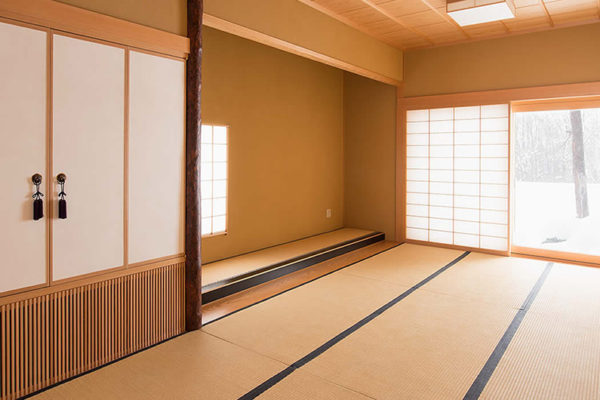 Akari Japanese Style Tea Room with Tatami Mat | Outer Hirafu