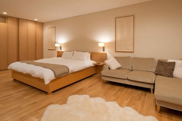 Akari Bedroom with Seating Area | Outer Hirafu