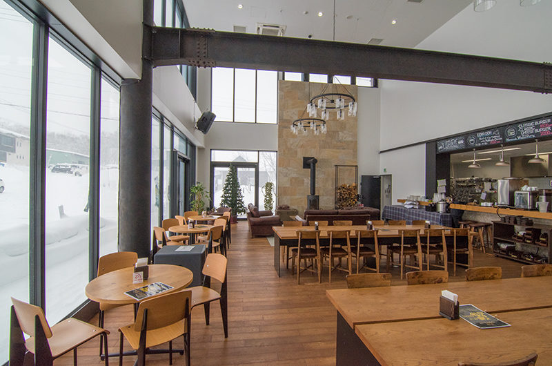 The Lodge Moiwa 834 Common Dining   Moiwa