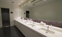The Lodge Moiwa 834 Common Bathroom with Mirror   Moiwa