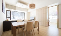 Ki Niseko Living and Dining Area | Upper Hirafu