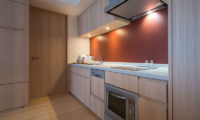 Ki Niseko Kitchen with Wooden Floor | Upper Hirafu