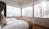 Ki Niseko Twin Bedroom with Outdoor View | Upper Hirafu