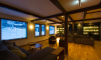 Gresystone Spacious Lounge with TV | Lower Hirafu