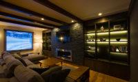 Gresystone Lounge with TV | Lower Hirafu
