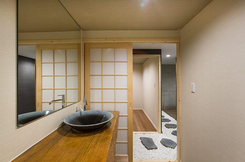 Gresystone Spacious En-Suite Bathroom | Lower Hirafu