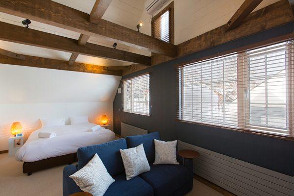 Gresystone Bedroom with Sofa | Lower Hirafu