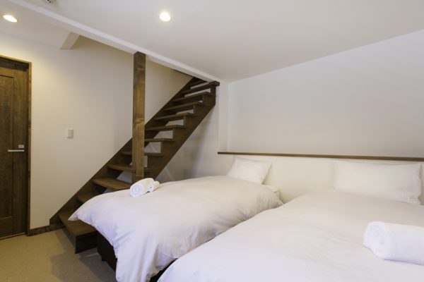Gresystone Twin Bedroom with Up Stairs | Lower Hirafu
