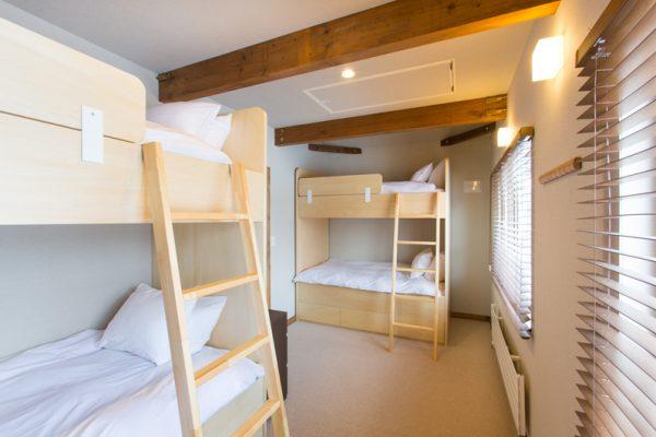 Gresystone Bunk Beds | Lower Hirafu