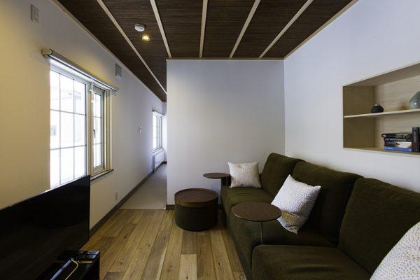 Gresystone Lounge Room | Lower Hirafu