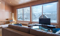 Heiwa Lodge Living Room Views | West Hirafu