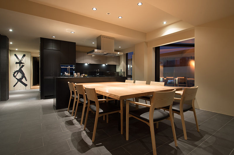 Muse Niseko Kitchen and Dining Area | Middle Hirafu