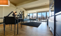 Muse Niseko Living and Dining Area with Mountain View | Middle Hirafu