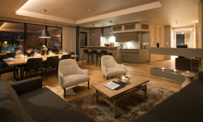 Aspect Niseko Lounge Area | Middle Hirafu Village