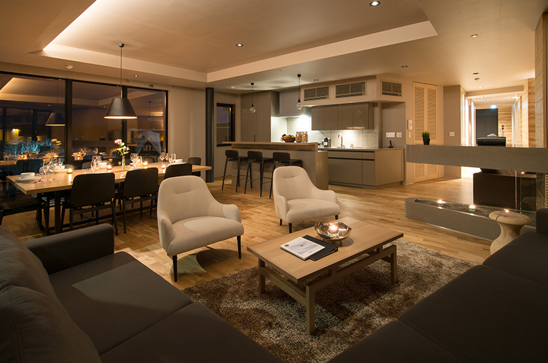 Aspect Niseko Lounge Area | Middle Hirafu Village
