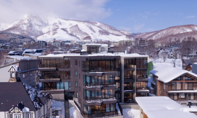 Aspect Niseko Outdoor View with Mountain | Middle Hirafu Village