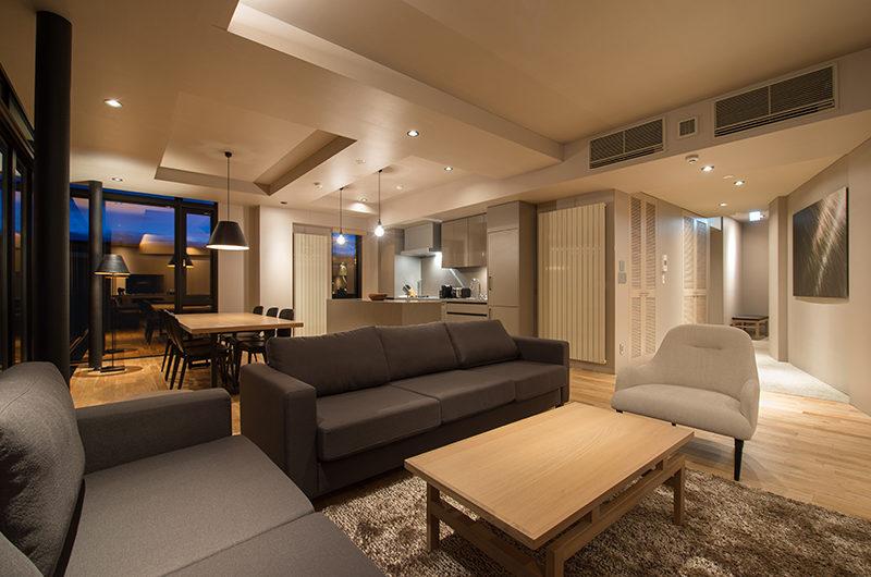 Aspect Niseko Living Area | Middle Hirafu Village