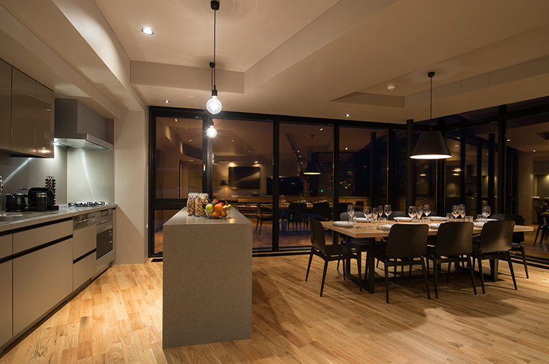 Aspect Niseko Kitchen and Dining Area | Middle Hirafu Village