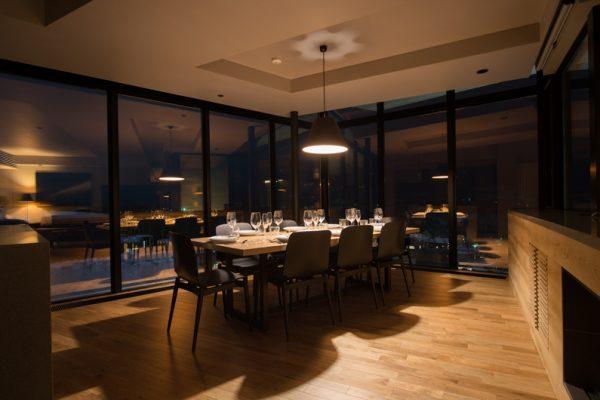 Aspect Niseko Dining with Crockery at Night | Middle Hirafu Village